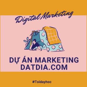 Dự án việc làm marketing online Datdia.com