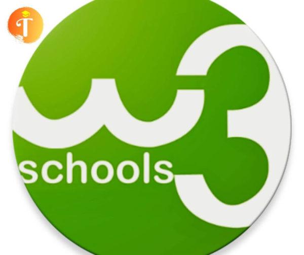 dự án lập trình trang w3school tại Toidayhoc